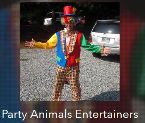 Party animals entertainers